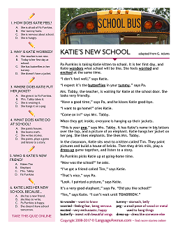 Katie's New School